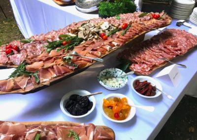 Buffet monoporzioni e finger food